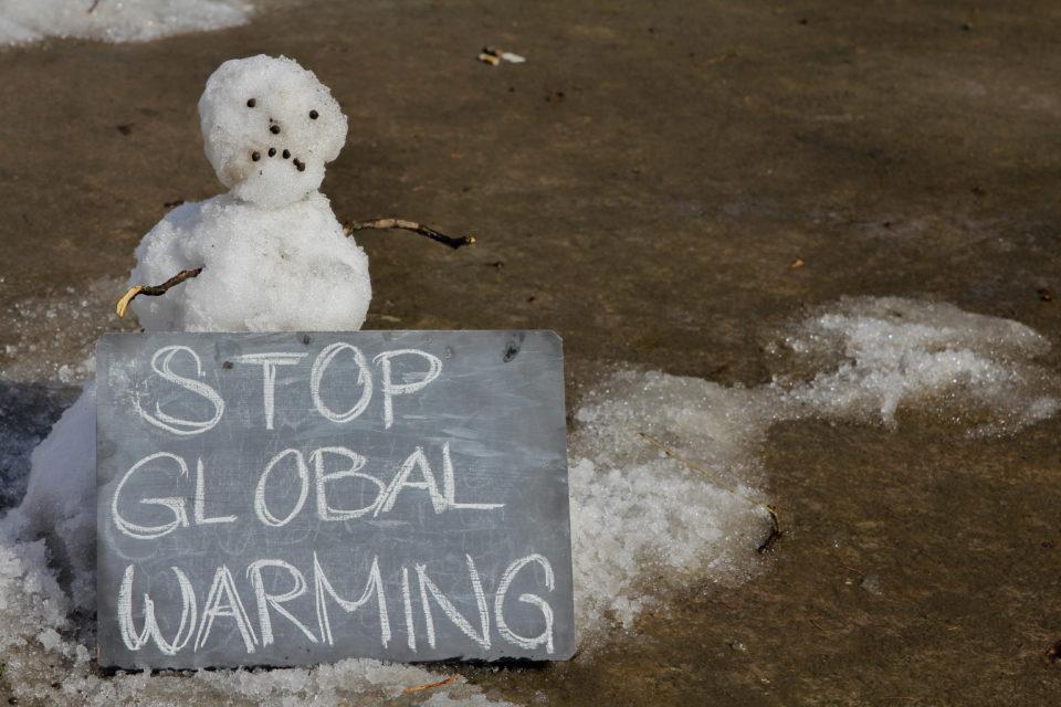 Snowman Stop Global Warming