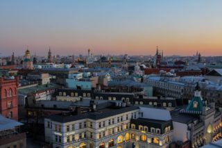 Moscow view from TSUM