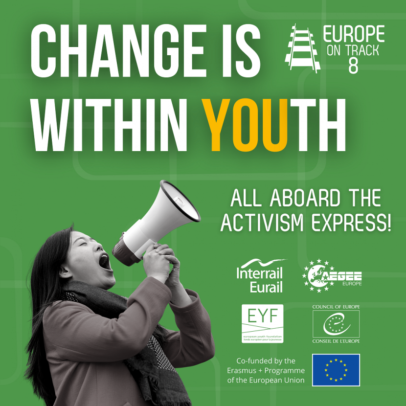 Europe on track 8 topic: change is within youth